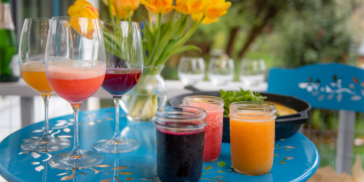 Mother's Day Mimosa Bar